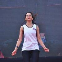 Rakul Preet Singh - Rakul Preet participate in Fitness Unplugged for Rape Victims Event Photos