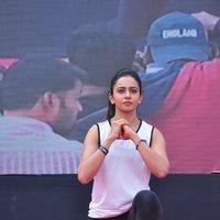 Rakul Preet Singh - Rakul Preet participate in Fitness Unplugged for Rape Victims Event Photos | Picture 1436684