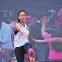 Rakul Preet Singh - Rakul Preet participate in Fitness Unplugged for Rape Victims Event Photos | Picture 1436670