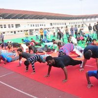 Rakul Preet participate in Fitness Unplugged for Rape Victims Event Photos