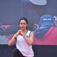 Rakul Preet Singh - Rakul Preet participate in Fitness Unplugged for Rape Victims Event Photos | Picture 1436683