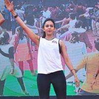 Rakul Preet Singh - Rakul Preet participate in Fitness Unplugged for Rape Victims Event Photos | Picture 1436668