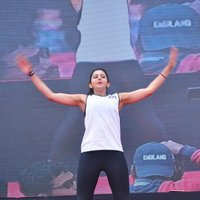 Rakul Preet Singh - Rakul Preet participate in Fitness Unplugged for Rape Victims Event Photos | Picture 1436676