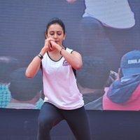 Rakul Preet Singh - Rakul Preet participate in Fitness Unplugged for Rape Victims Event Photos | Picture 1436682