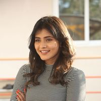 Hebah Patel at Manyam Pulli Press Meet Photos | Picture 1437257