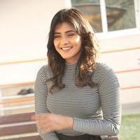 Hebah Patel at Manyam Pulli Press Meet Photos | Picture 1437248