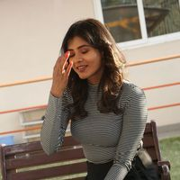 Hebah Patel at Manyam Pulli Press Meet Photos | Picture 1437252