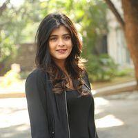 Hebah Patel at Ekkadiki Pothavu Chinnavada Thanks Meet Photos   Picture 1438300