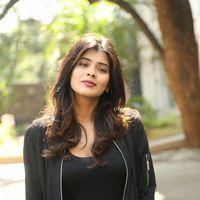 Hebah Patel at Ekkadiki Pothavu Chinnavada Thanks Meet Photos   Picture 1438306