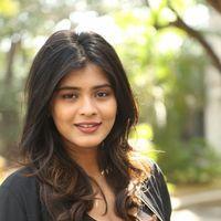 Hebah Patel at Ekkadiki Pothavu Chinnavada Thanks Meet Photos   Picture 1438316