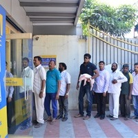 Ravibabu in ATM Queue with Piglet Photos