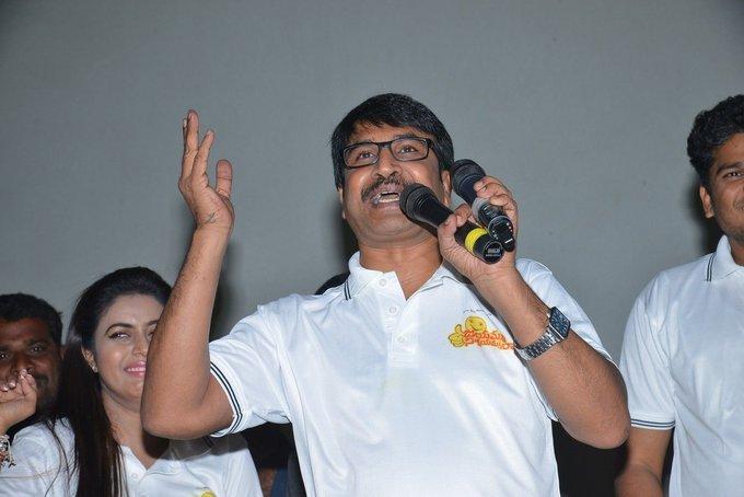 Jayammu Nischayammu Raa Team at Satyam Theatre Photos | Picture 1439552