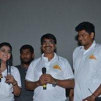 Jayammu Nischayammu Raa Team at Satyam Theatre Photos | Picture 1439534