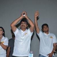 Jayammu Nischayammu Raa Team at Satyam Theatre Photos | Picture 1439557