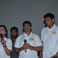 Jayammu Nischayammu Raa Team at Satyam Theatre Photos | Picture 1439533