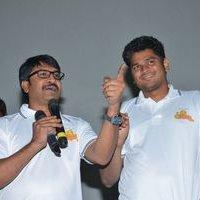 Jayammu Nischayammu Raa Team at Satyam Theatre Photos | Picture 1439538
