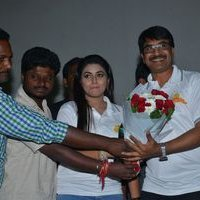Jayammu Nischayammu Raa Team at Satyam Theatre Photos | Picture 1439541