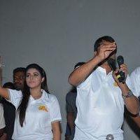 Jayammu Nischayammu Raa Team at Satyam Theatre Photos | Picture 1439554