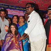 Lakshmi Manchu and Suma Kanakala Launches Jesus Old Age Home Photos