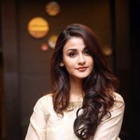 Aditi Arya at BCL Tollywood Celebrity Cricket Logo Launch Photos | Picture 1440627