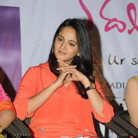 Anushka Shetty - Prema Ishq Kadhal Movie Audio Success Meet Stills