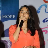 Anushka Latest Stills at Prema Ishq Kadhal Audio Success Meet