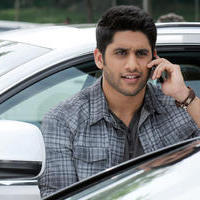 Naga Chaitanya - Naga Chaitanya in Manam Movie Stills