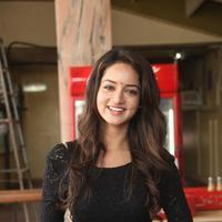 Shanvi Srivastava - Pyar Mein Padipoyane Movie Theatre Coverage Photos