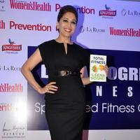 Madhuri Dixit - Madhuri Dixit Launches Leena Mogre Book Total Fitness Stills