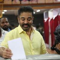 Kamal Haasan - Dancer and Dance Directors Association Election Stills