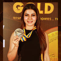 Samantha Akkineni - Behindwoods Gold Award Ceremony Stills
