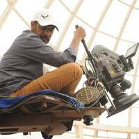 Ramji (Cinematographer) - Cinematographer Ramji at Thani Oruvan Movie Working Photos