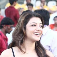 Kajal Aggarwal - Chennai Rhinos vs Karnataka Bulldozers Semi Finals in HYD Stills | Picture 953201