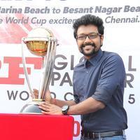 Rahul Nambiar - MRF ICC World Cup 2015 Cavalcade Photos