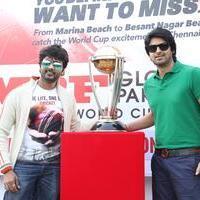 MRF ICC World Cup 2015 Cavalcade Photos