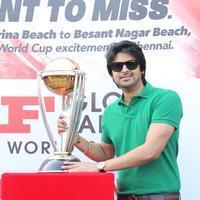 Srikanth - MRF ICC World Cup 2015 Cavalcade Photos