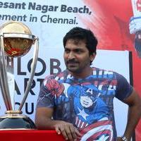 Vaibhav Reddy - MRF ICC World Cup 2015 Cavalcade Photos