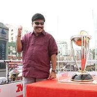 Powerstar Srinivasan - MRF ICC World Cup 2015 Cavalcade Photos