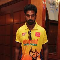Vikranth Santhosh - CCL5 Press Meet Stills