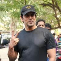 Vikram - Vikram at I Movie Press Meet Stills   Picture 934603
