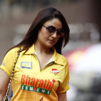 Sonia Agarwal - CCL 5 Chennai Rhinos Vs Veer Marathi Match Photos