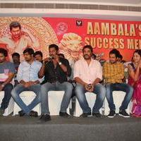 Aambala Movie Success Meet Stills | Picture 938653