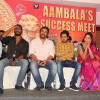 Aambala Movie Success Meet Stills | Picture 938656