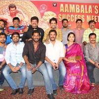 Aambala Movie Success Meet Stills | Picture 938659