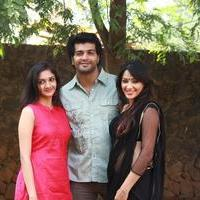 Aayirathil Iruvar Movie Team Interview Photos
