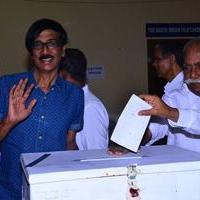 Manobala - South Indian Film Chamber Election 2015 Stills