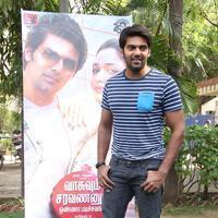 Arya (Actors) - Vasuvum Saravananum Onna Padichavanga Movie Press Meet Stills | Picture 1079301