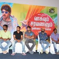 Vasuvum Saravananum Onna Padichavanga Movie Press Meet Stills | Picture 1079316