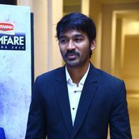 Dhanush - Dhanush at 62nd Britannia Filmfare Awards 2014 Press Meet Photos | Picture 1080030