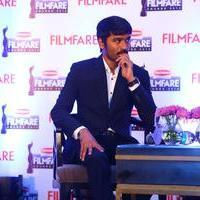 Dhanush - Dhanush at 62nd Britannia Filmfare Awards 2014 Press Meet Photos | Picture 1080046